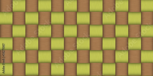 background texture of woven bamboo