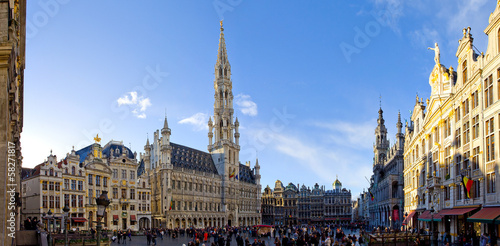 Fototapeta Bruxelles, grand place