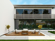 Modern design house exterior / contemporary villa