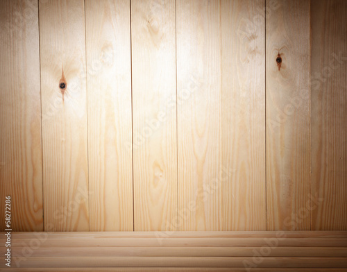 Wood plank  dark brown texture background