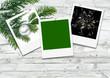 Frohe Festtage, Weihnachten, Silvester, Grußkarte