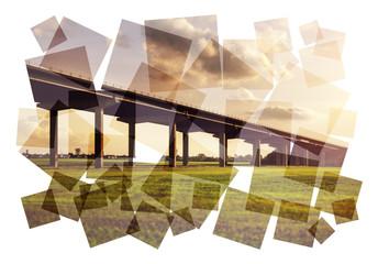 collage road bridge
