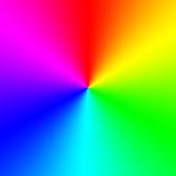 Fototapety Rainbow spectral circle gradient