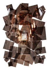 chapel collage