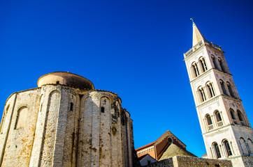 Das Stadtzentrum von Zadar