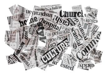 news headlines composition