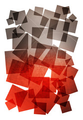 red grey abstract