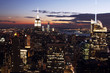 Obrazy na płótnie, fototapety, zdjęcia, fotoobrazy drukowane : New York City Skyline