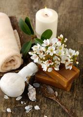 Aromatic spa set