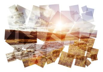 highlands river collage