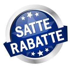 """Button mit Banner """" SATTE RABATTE """""""