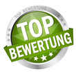 "Button mit Banner "" TOP BEWERTUNG """