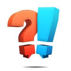 Q&A Fragen & Antworten Sprechblasen