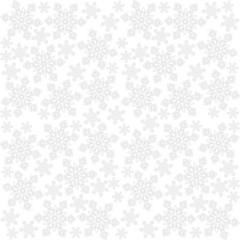jasne koronkowe płatki śniegu zimowy deseń na białym tle