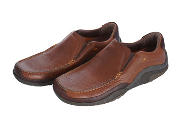 Brown Male Shoe