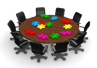 Conference Tabel Puzzles