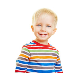 Portrait von einem lächelnden Kleinkind