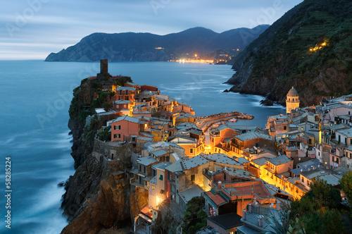 Leinwandbild Motiv Vernazza, Cinque Terre, Italie
