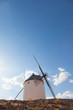 Windmills of Consuegra in La Mancha region, Spain