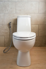 white ceramic toilet