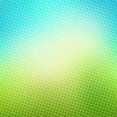 creative halftone pattern in blue green background vector