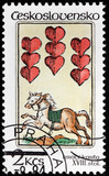Nine of Hearts Stamp