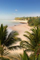 Arraial d'Ajuda beach in Bahia