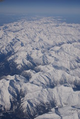 Mountain Range from Above
