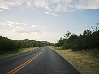 Street to horizon
