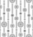 Vertical pattern black