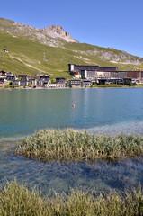 Lake of Tignes in France