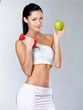 Healthy lifestyle concept of woman