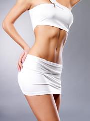 Beautiful healthy female body