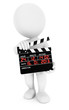 3d white people movie clapper
