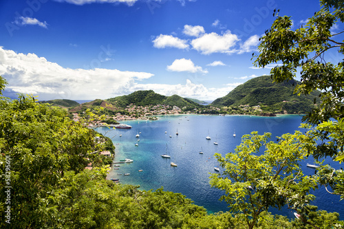 Papiers peints Ile Bay of Terre-de-Haut, Les Saintes islands, Guadeloupe