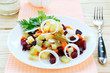 Russian winter vegetable salad