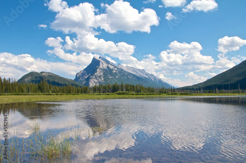 Vermillion Lakes Wide