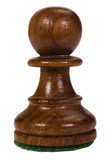 Close-up of a pawn