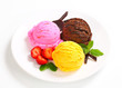 Ice cream trio