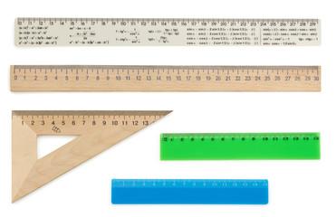 ruler on white