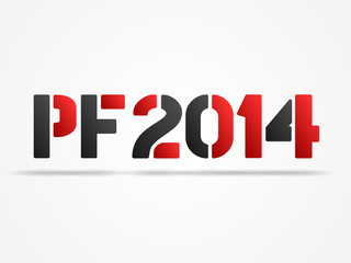 pf 2014 red poster