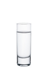Full Vodka Glass