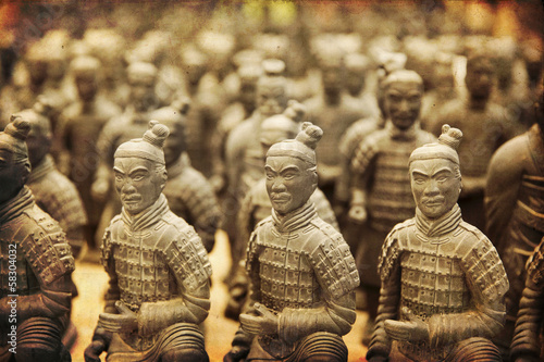 Chinese terracotta army - Xian  - 58304032