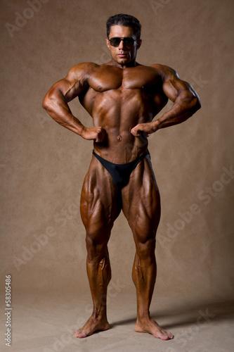 Fototapeten,bodybuilder,männlich,stark,champion