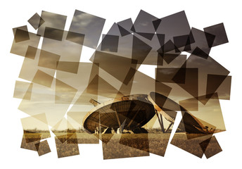 radar collage