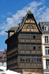 Strasburgo, casa più antica, Germania.