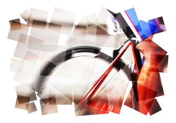 cyclist abstract