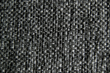 Grey  / black / white fabric closeup