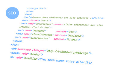 Optimisation du code pour le SEO - Background white