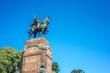 Carlos de Alvear statue in Buenos Aires, Argentina